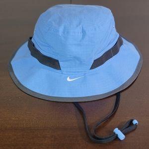 Nike Dry Bucket Blue Gray Hat Cap Adjustable Strap